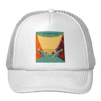 Kitsch Vintage Matchbook Boulder Dam Hats