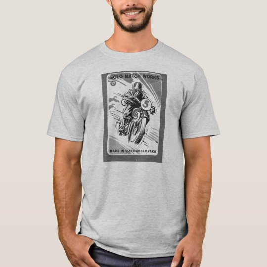 Kitsch Vintage Matchbook Solo Motorcycle T-Shirt