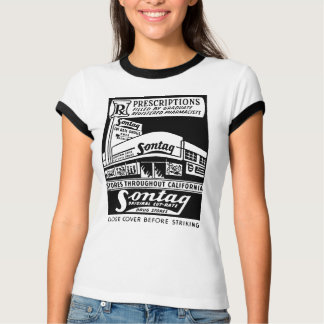 Kitsch Vintage Matchbook Sontag Drugstore Shirt