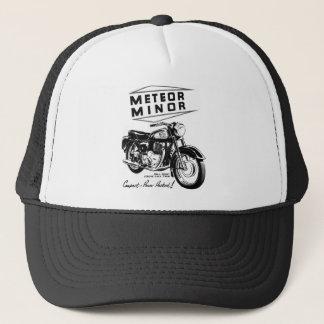 Kitsch Vintage 'Metor Minor' Motorcycle Bikers Trucker Hat