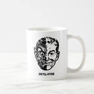 Kitsch Vintage Monster Dr. Jekyll & Mr. Hyde Classic White Coffee Mug
