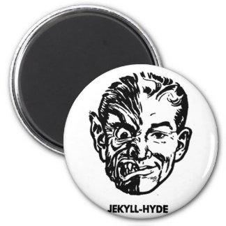 Kitsch Vintage Monster Dr. Jekyll & Mr. Hyde Magnet
