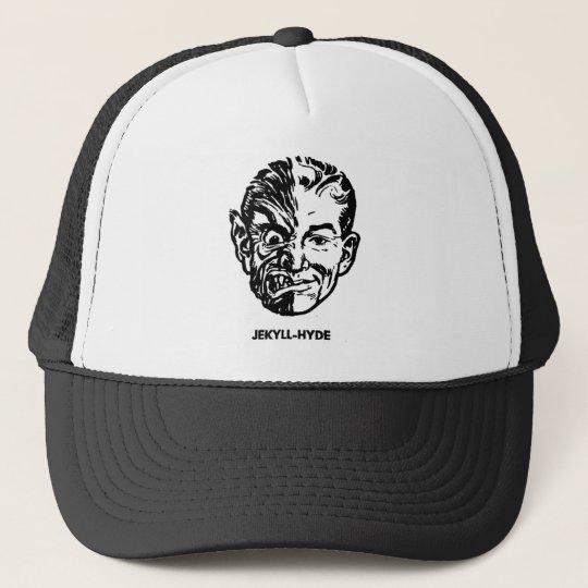 Kitsch Vintage Monster Dr. Jekyll & Mr. Hyde Trucker Hat