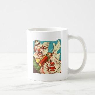 Kitsch Vintage Never Trust a Clown Coffee Mug