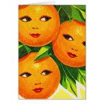 Kitsch Vintage Oranges 'Orange Girls'