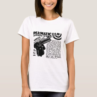 Kitsch Vintage Peamatic Pea Shooter Toy T-Shirt