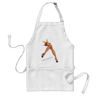 Kitsch Vintage Pin-Up Legs Stockings Aprons