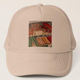 Kitsch Vintage Retro Redwood Suburban Furniture Trucker Hat