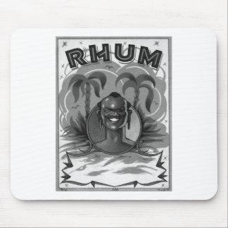 Kitsch Vintage Rhum Rum Man Mouse Pad