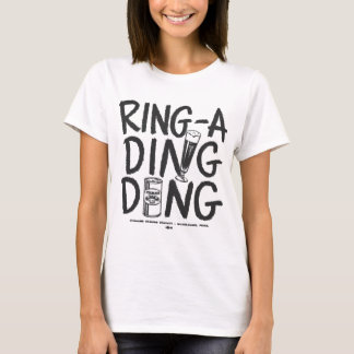 Kitsch Vintage Ring-a-Ding Ding Beer Time Ad T-Shirt