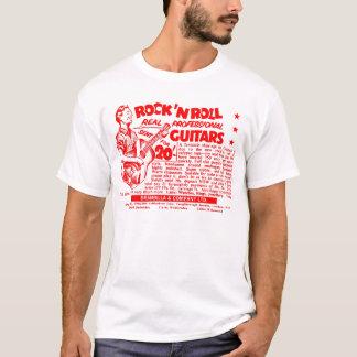 "Kitsch Vintage Rock N' Roll 'Guitars, 20 Quid!"" T-Shirt"