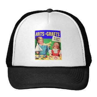 Kitsch Vintage s 'Arts & Crafts' Book Trucker Hat