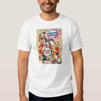 Kitsch Vintage Super Duper Coloring Book Tee Shirt