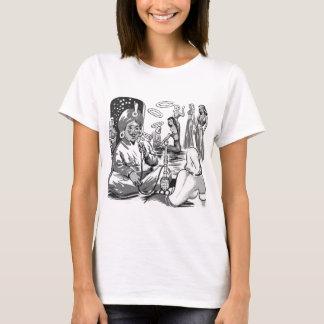 Kitsch Vintage Tobacco Hookah Bagdad Harem T-Shirt