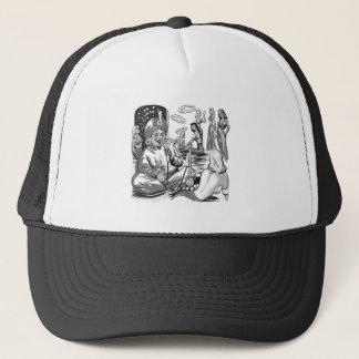 Kitsch Vintage Tobacco Hookah Bagdad Harem Trucker Hat
