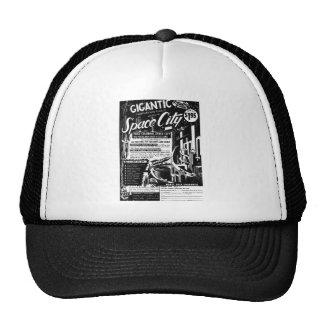 Kitsch Vintage Toy Gigantic Space City Trucker Hat