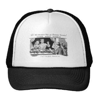 Kitsch Vintage We Missed You Sunday School Trucker Hat