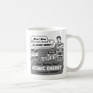Kitsch Vintage With Atomic Energy Chemistry Set Mug