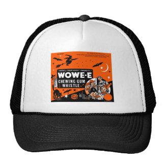 Kitsch Vintage Wowee Wax Gum Halloween Mesh Hat