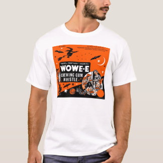 Kitsch Vintage Wowee Wax Gum Halloween T-Shirt