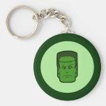 Kitschy Frankenstein Key Chain