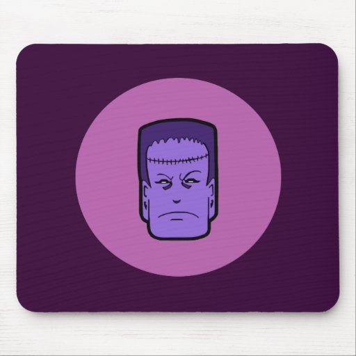 Kitschy Frankenstein Mouse Pad