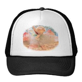 Kitschy Pink Angel Trucker Hats