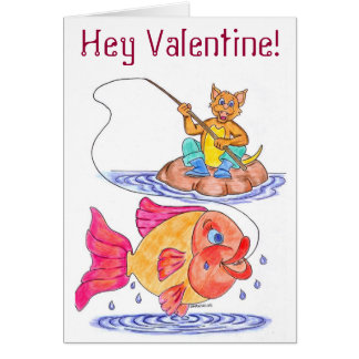 Kitschy Valentines Day Card