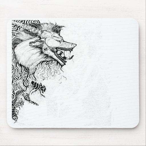 Kitsu Design1 mousepad
