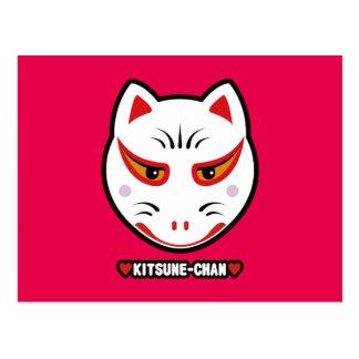 ♥Kitsune-Chan♥ Postcard