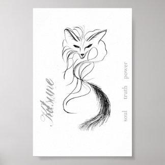 Kitsune - el alcohol del zorro póster
