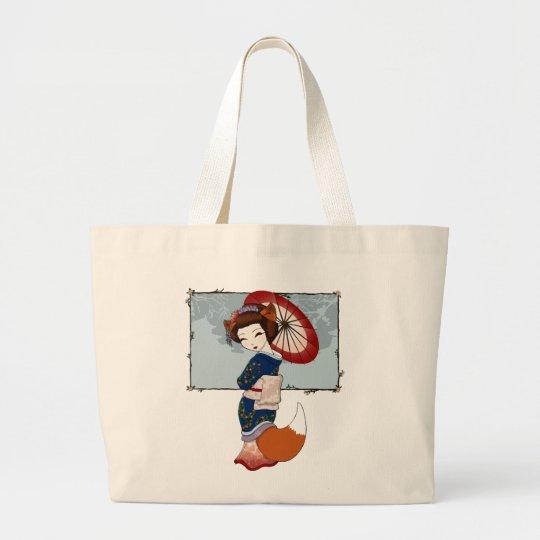 Kitsune Geisha Totes