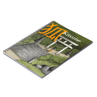 Kitsune - Japanese Fox Guardian Notebook
