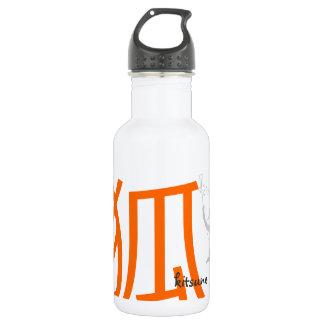 Kitsune Shinto Fox Water Bottle