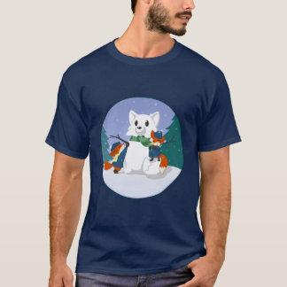 Kitsune Snow Day Dark Shirts