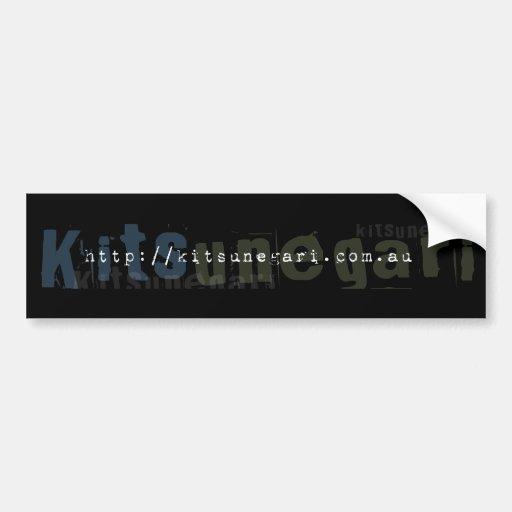 Kitsunegari URL Bumper Sticker