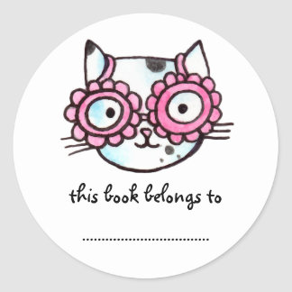 Kitteh Classic Round Sticker