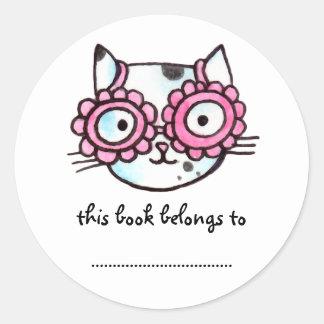 Kitteh Classic Round Sticker