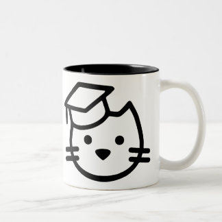 Kitten Academy Logo Mug