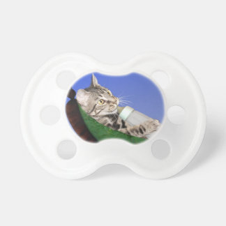 Kitten and baby bottle BooginHead pacifier