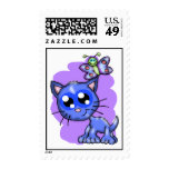 Kitten and Butterfly Postage