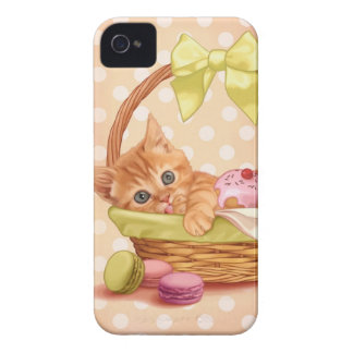 Kitten and cupcake iPhone 4 case