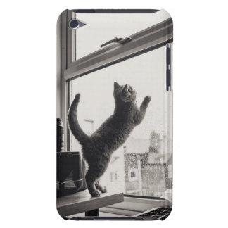 Kitten and Rain iPod Case-Mate Case