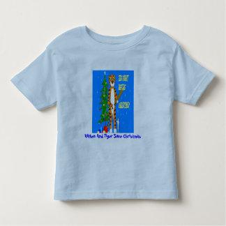 Kitten And Tiger Save Christmas Toddler T-shirt