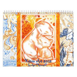 Kitten Art 1012 Wall Calendars