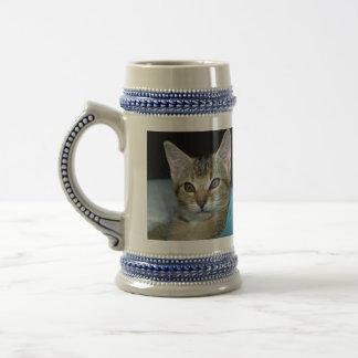 Kitten Beer Stein
