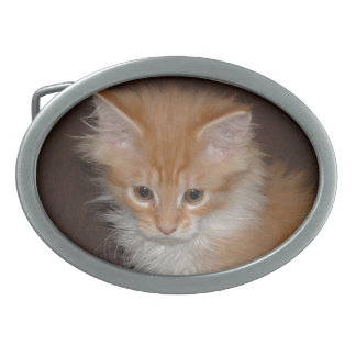 Kitten Belt Buckle