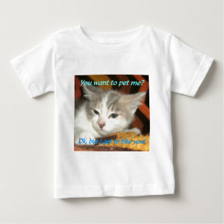 Kitten Bite Baby T-Shirt