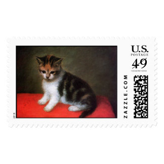 Kitten by Stubbs: Cat Postage Stamps: Large Size