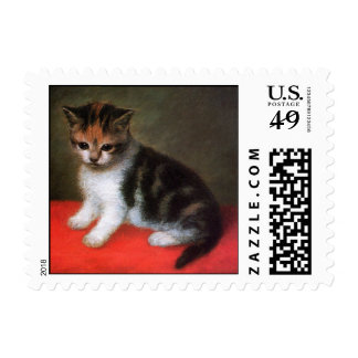 Kitten by Stubbs: Cat Postage Stamps: Small Size